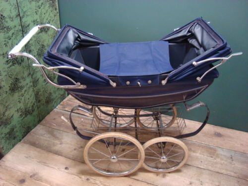 1950 S 60 S Navy Blue Silver Cross Coach Built Twin Double