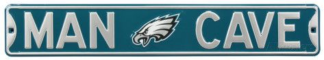 Man Cave Philadelphia Eagles Steel Sign Wall sign at AllPosters.com
