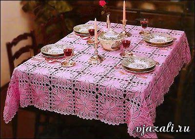 http://patronesgratisdetejido.blogspot.com.ar/2014/08/mantel-al-crochet-realizado-con-grannys.html