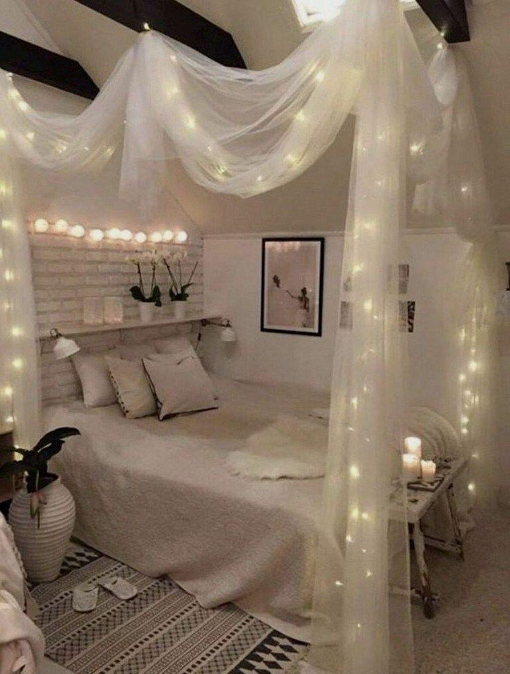 33 Stunning Romantic Bedroom Decor Ideas You Will Love Homyhomee Diy Home Room Stylish Design