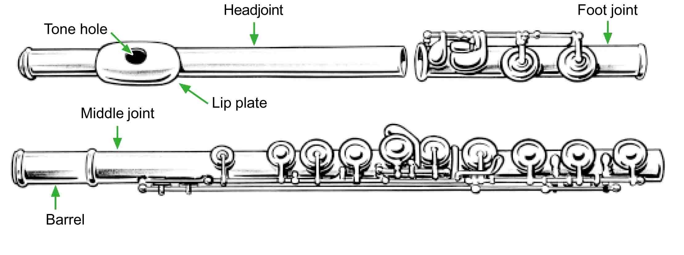 flute parts image the flute pinterest flute music and image rh pinterest com