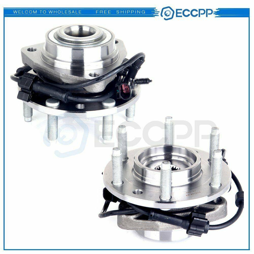 Advertisement Ebay 2 Front Wheel Bearing Hub Assembly Chevy