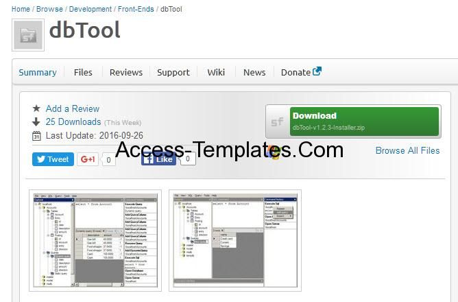MS Access DB and MDB Viewer Software | Access Database Templates ...