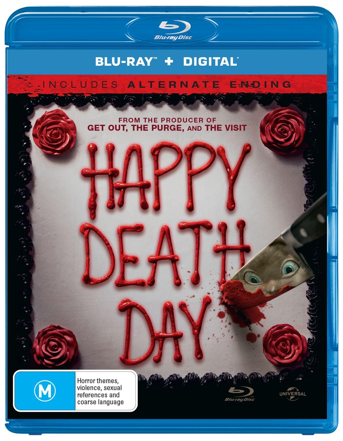 HAPPY DEATH DAY WIN COPIES ON BLU RAY Blu ray, Jessica