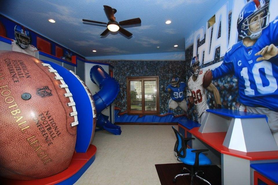 Merveilleux Kids Boys Sport Rooms Design Pictures Remodel Decor And. Nfl Bedroom  Furniture ...