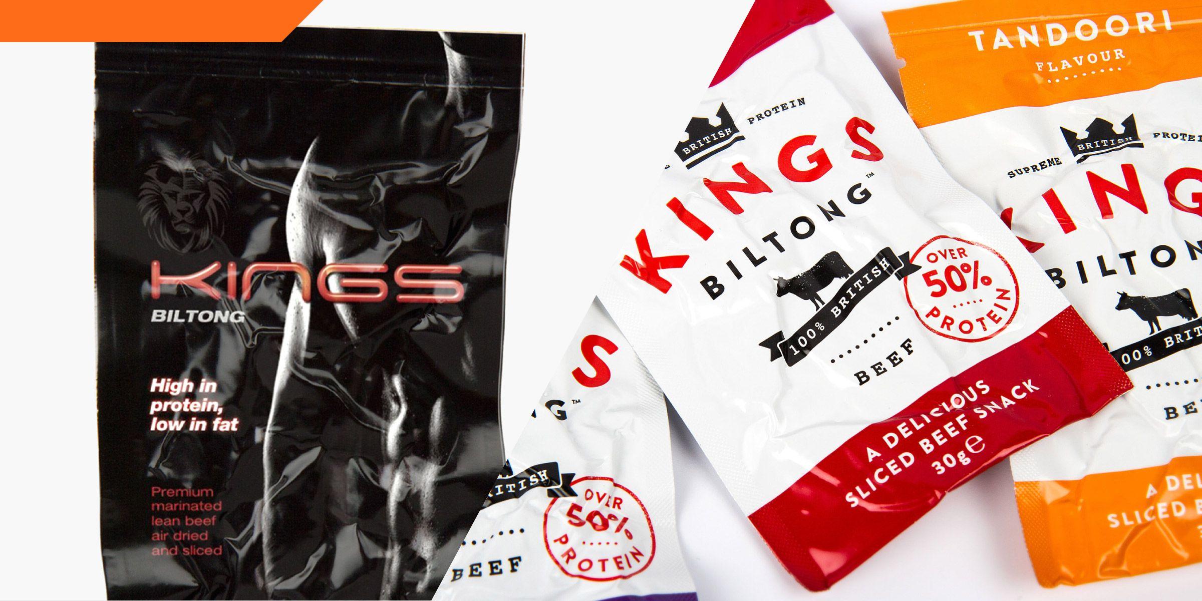 Before after kings biltong biltong drinks packaging