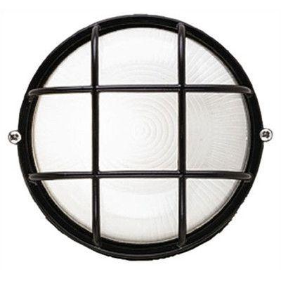 Philips Oceanview 1 Light Outdoor Bulkhead Light Size: Large, Finish: