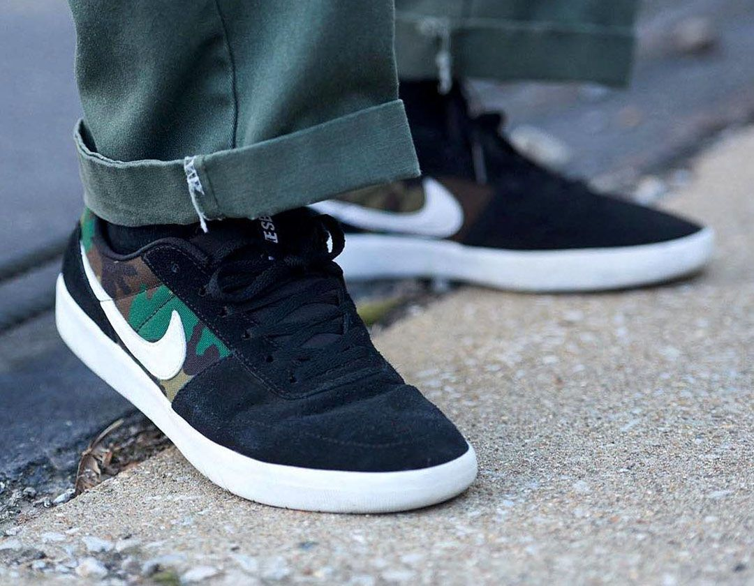 Nike Sb Team Classic Black White Camo Www Popname Cz Nike Sb Nike Skate Shoes