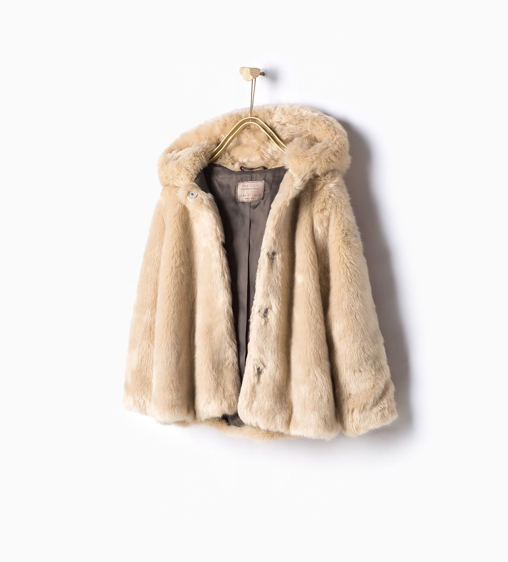 fd223ae6d Image 1 of Faux fur coat from Zara | Lillian loves fashion | Abrigos ...