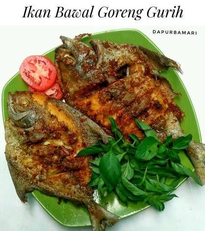 Resep Ikan Bawal Goreng Gurih Oleh Arsanti96 Resep Resep Resep Masakan Asia Memasak