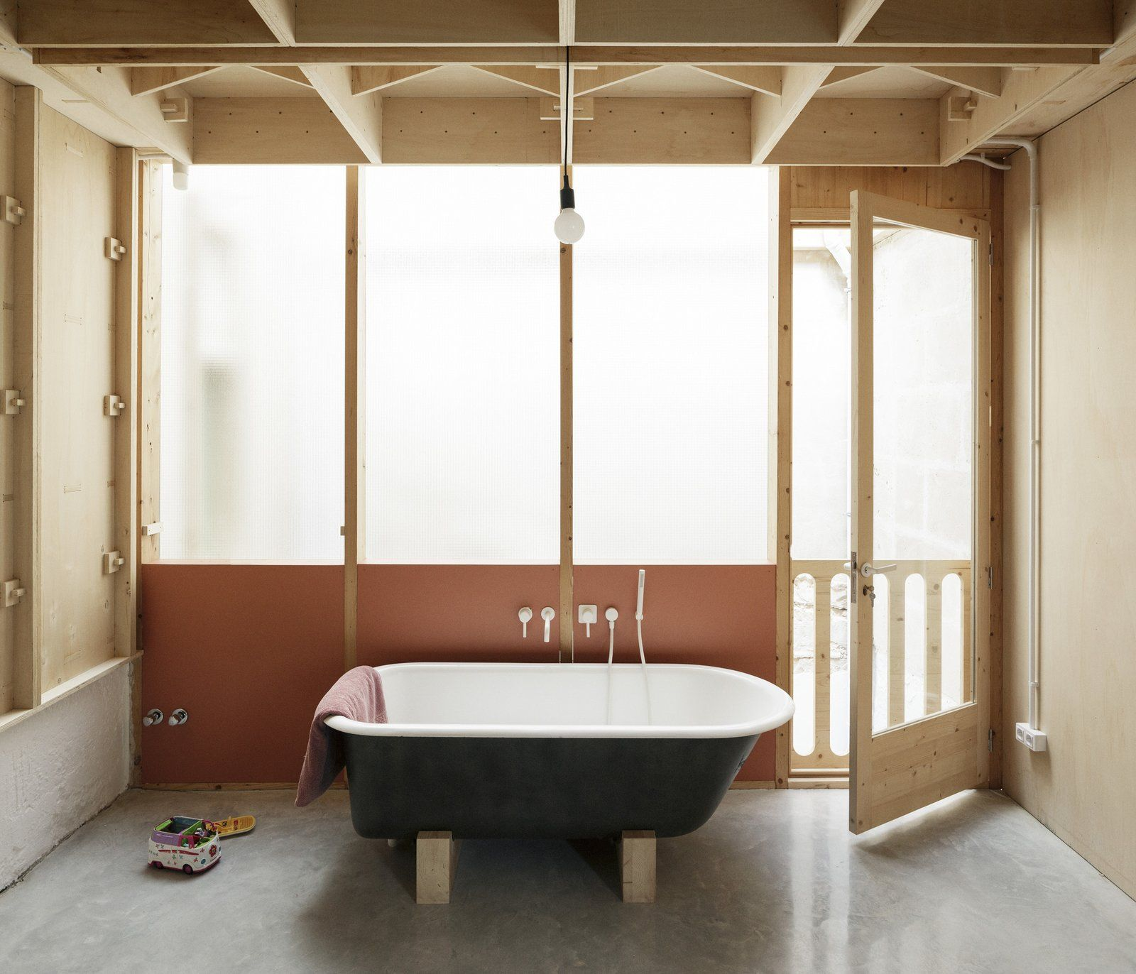 Photo 16 Of 19 In A Luminous Plywood Addition Crowns This Mallorca Interieur Architecten