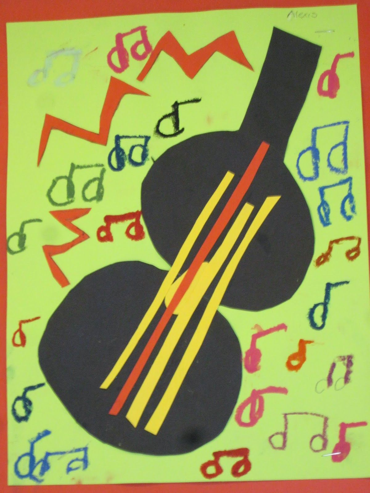 Lines Dots And Doodles Musical Art 1st Grade