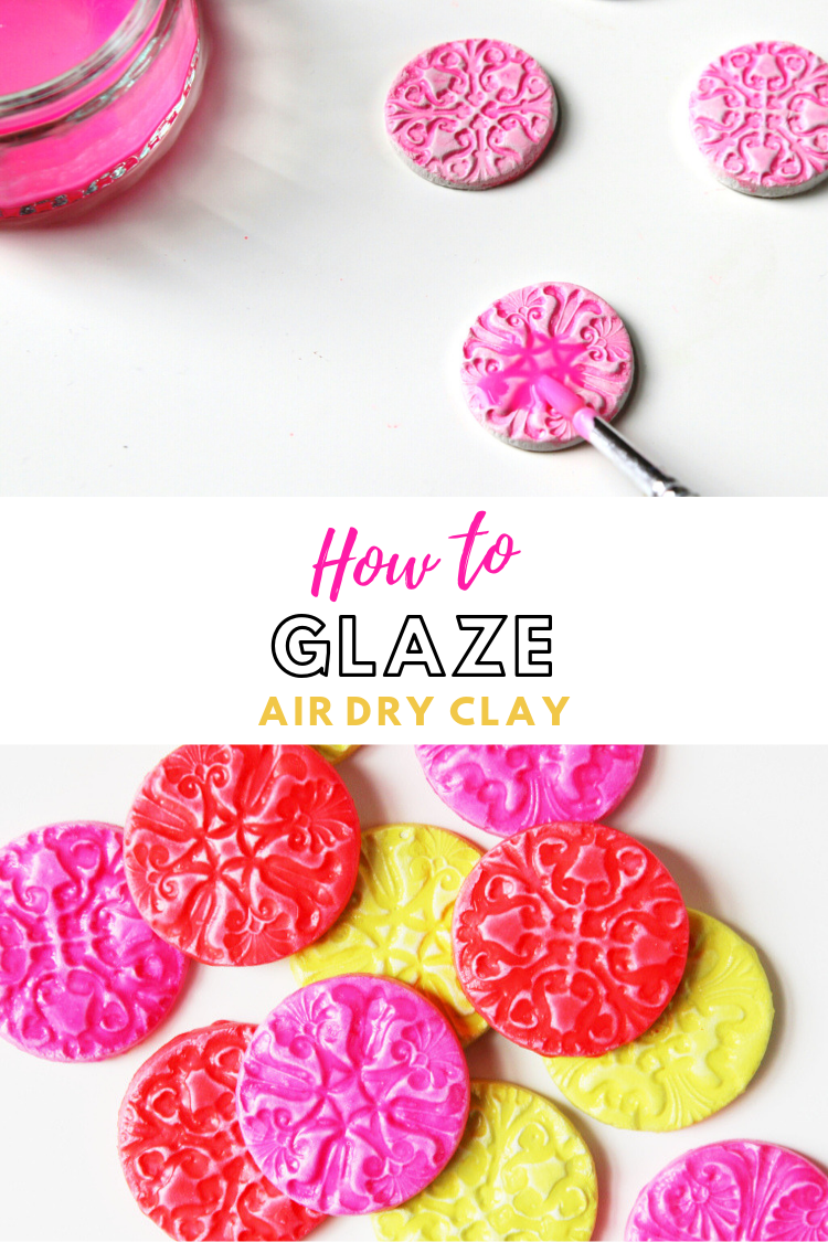 HOW TO MAKE YOUR OWN DIY GLAZE FOR CLAY CRAFTS. Air dry