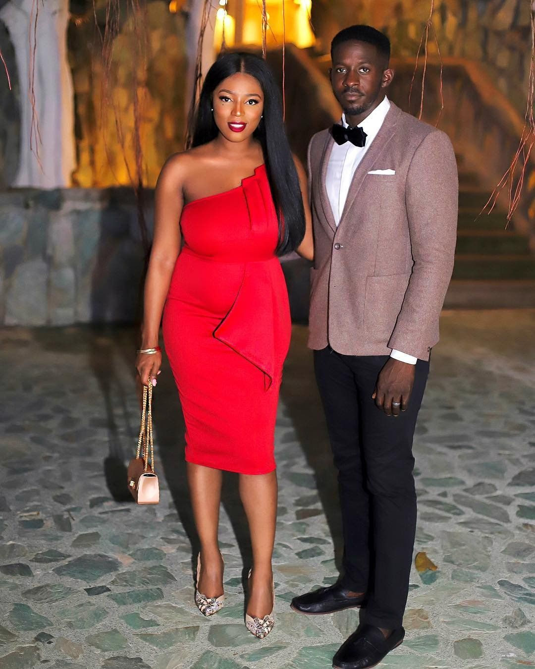 Wedding Guests Steal Worthy Looks Wedding Digest Naija Blog Black Wedding Guest Outfits Wedding Guest Outfit Couples African Outfits [ 1350 x 1080 Pixel ]