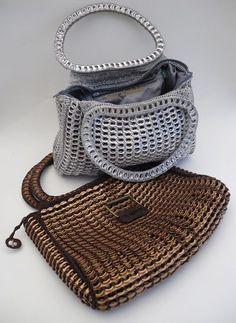 Instituto Ecoação: Bolsas e artigos feitos de lacre de latinha de alumínio são sucesso na Europa e na Oceania