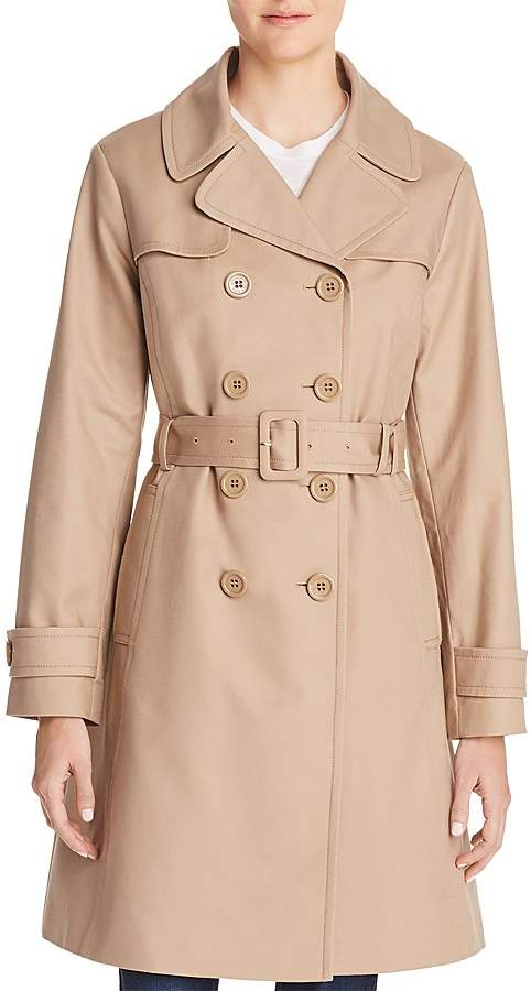 d405f515b1e6 Kate Spade Double-Breasted Bow Back Trench Coat. kate spade new york ...