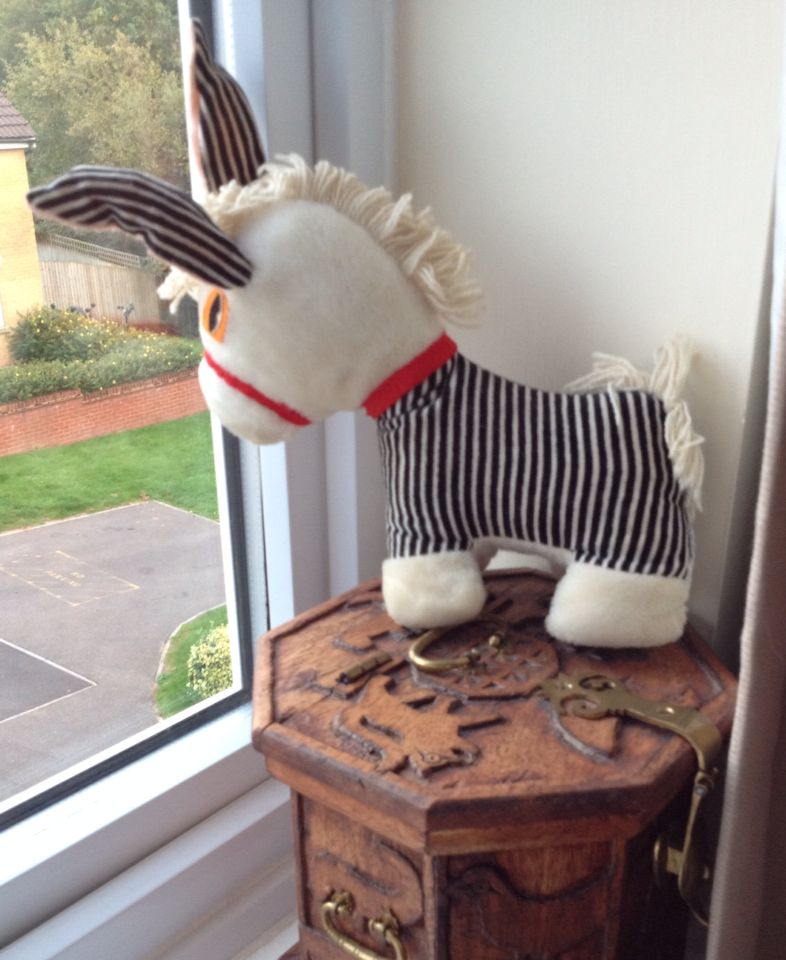 Zebra waiting for his friends. Jane Hissey Old Bear ...