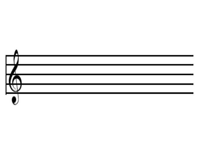 Картинка нотной линейки