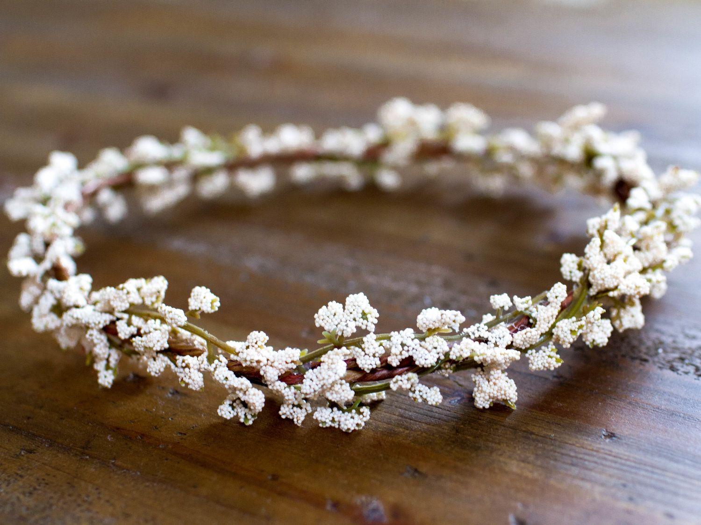 Handmade Bride Bridesmaid Flower Crown Sale Sisters Wedding
