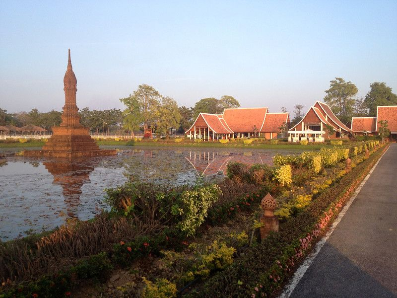 Sukhothai Airport in Thailand | From Shores to Skylines
