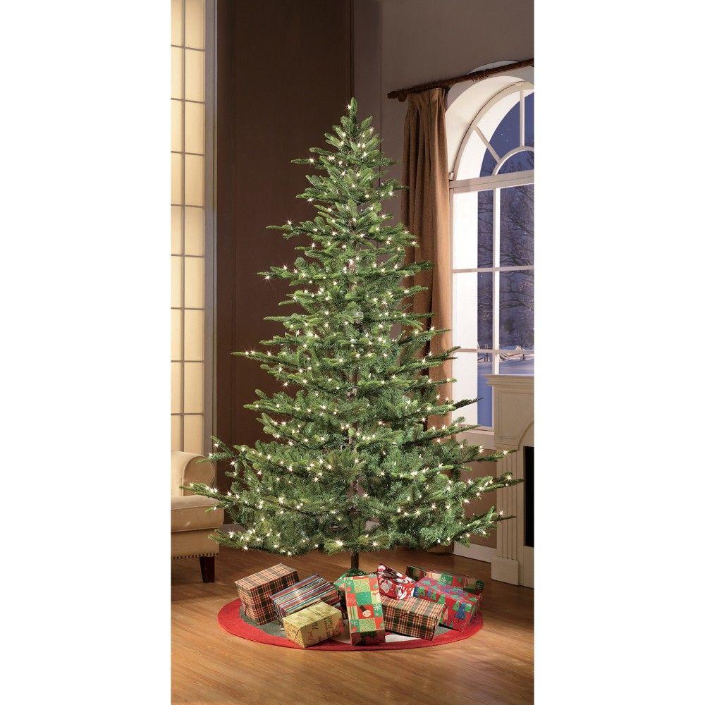 6 5ft Prelit Artificial Christmas Tree Alaskan Fir Green