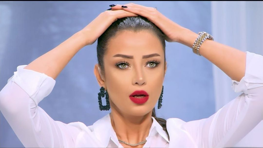 Middeleast Women Radwa El Sherbeny Egyptian Tv Presenter Egyptian Actress Tv Presenters Beauty