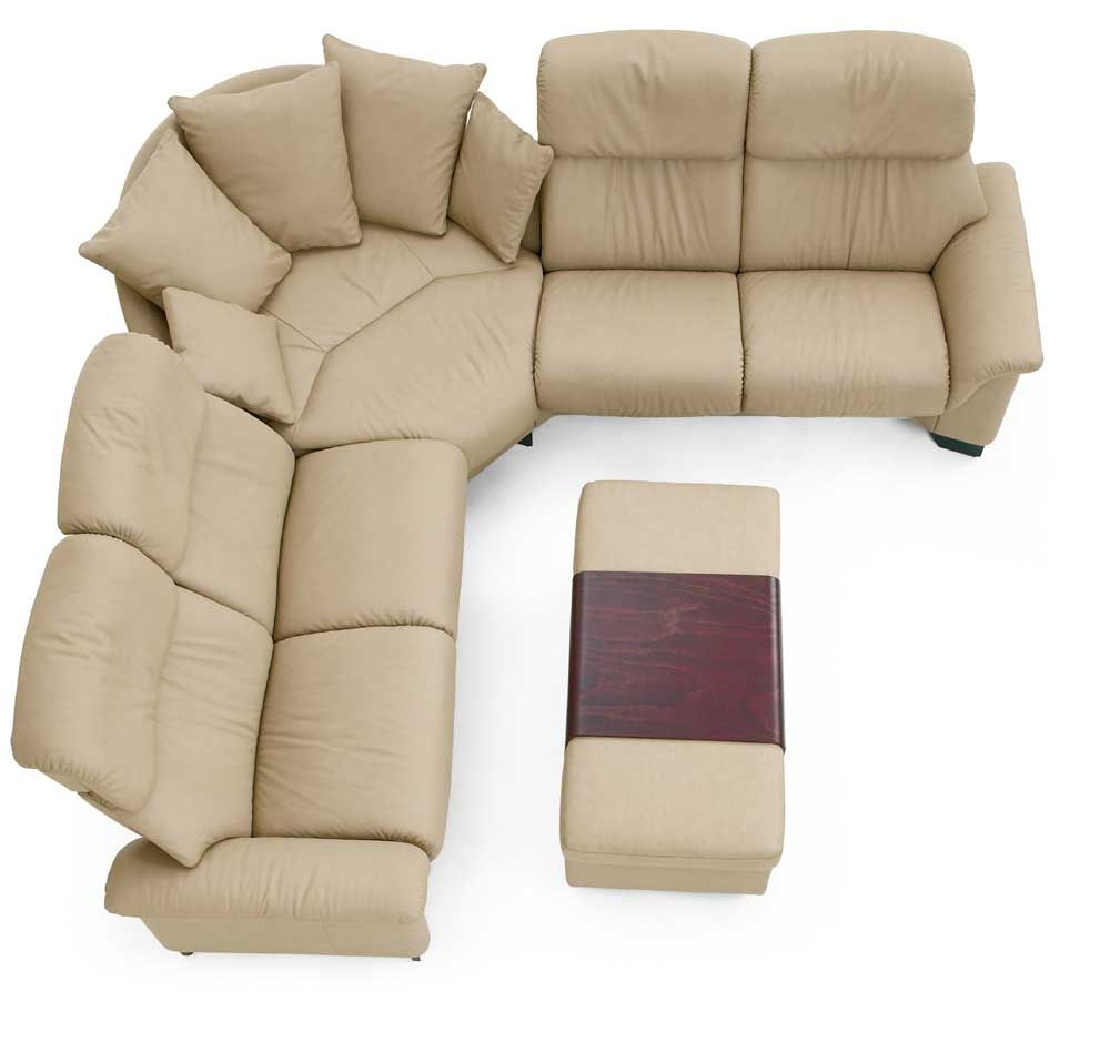 Stressless Paradise 3 Piece Sectional By Stressless By Ekornes