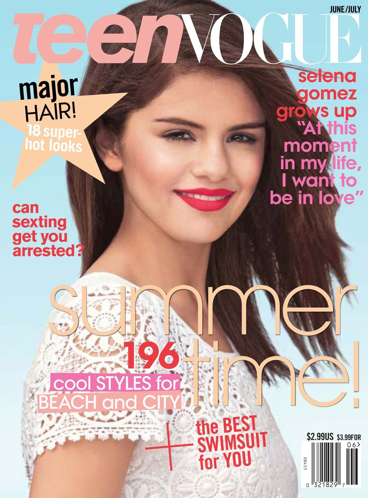 Selena Gomez Vogue Magazine