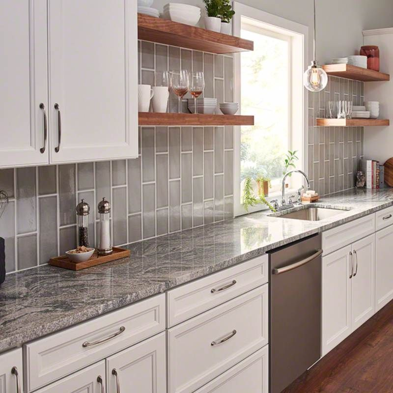 Granite Countertops Are Among The Top Ways To Increase Home Resale Value Granite Is Gu Unique Kitchen Backsplash Gray Kitchen Backsplash Kitchen Remodel Small