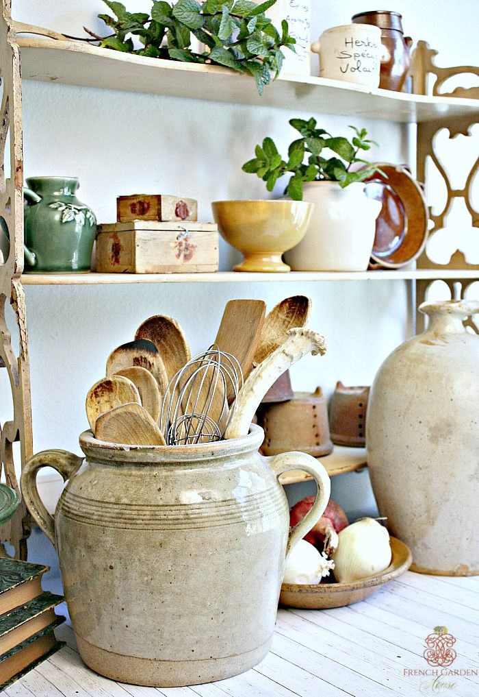 Photo of HOW TO STYLE YOUR FRENCH COUNTRY KITCHEN – French Garden House