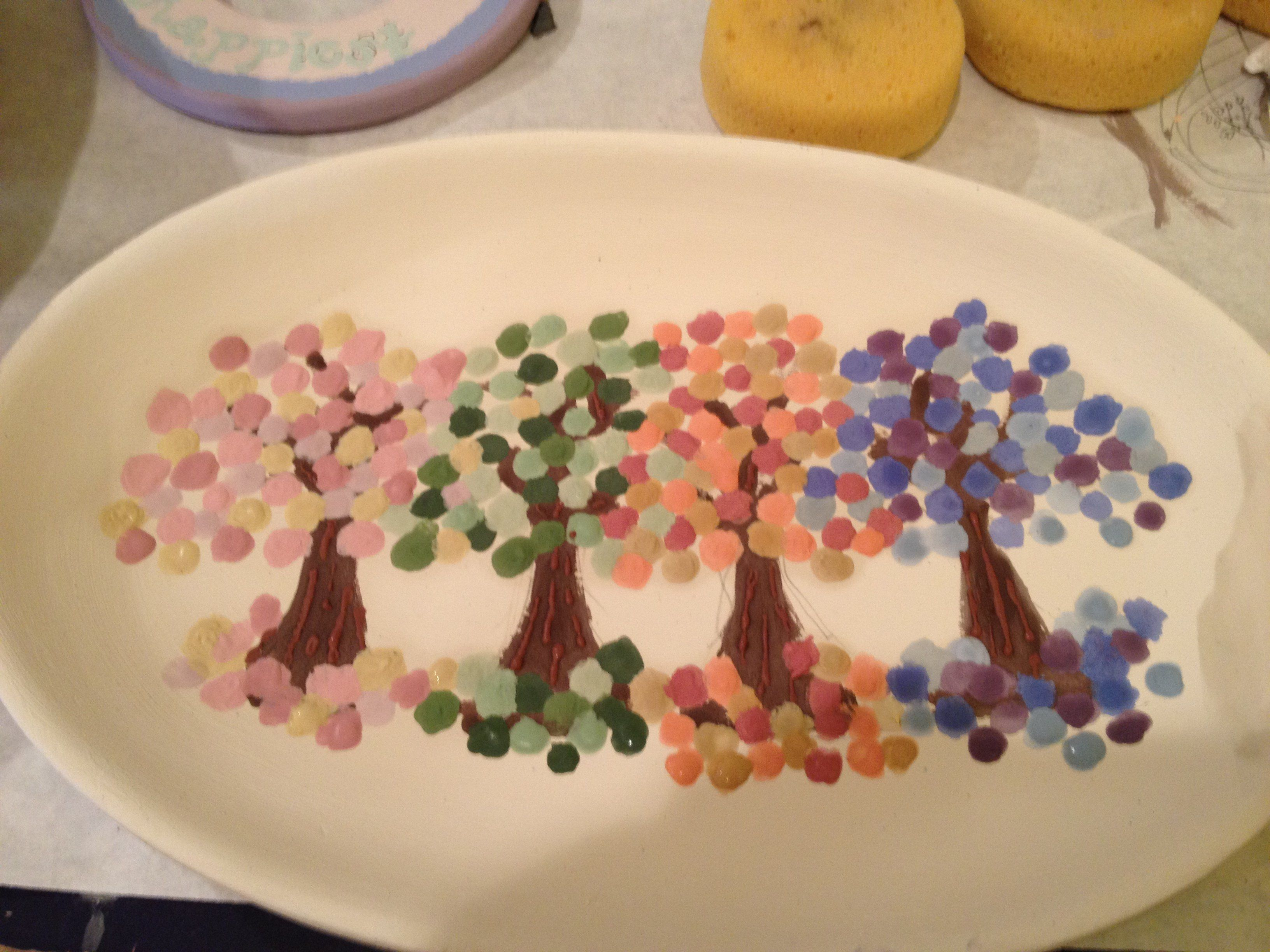 Easy painted pottery designs the image - Painting ideas for pottery ...