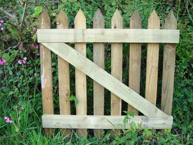 Garden gate garden ideas