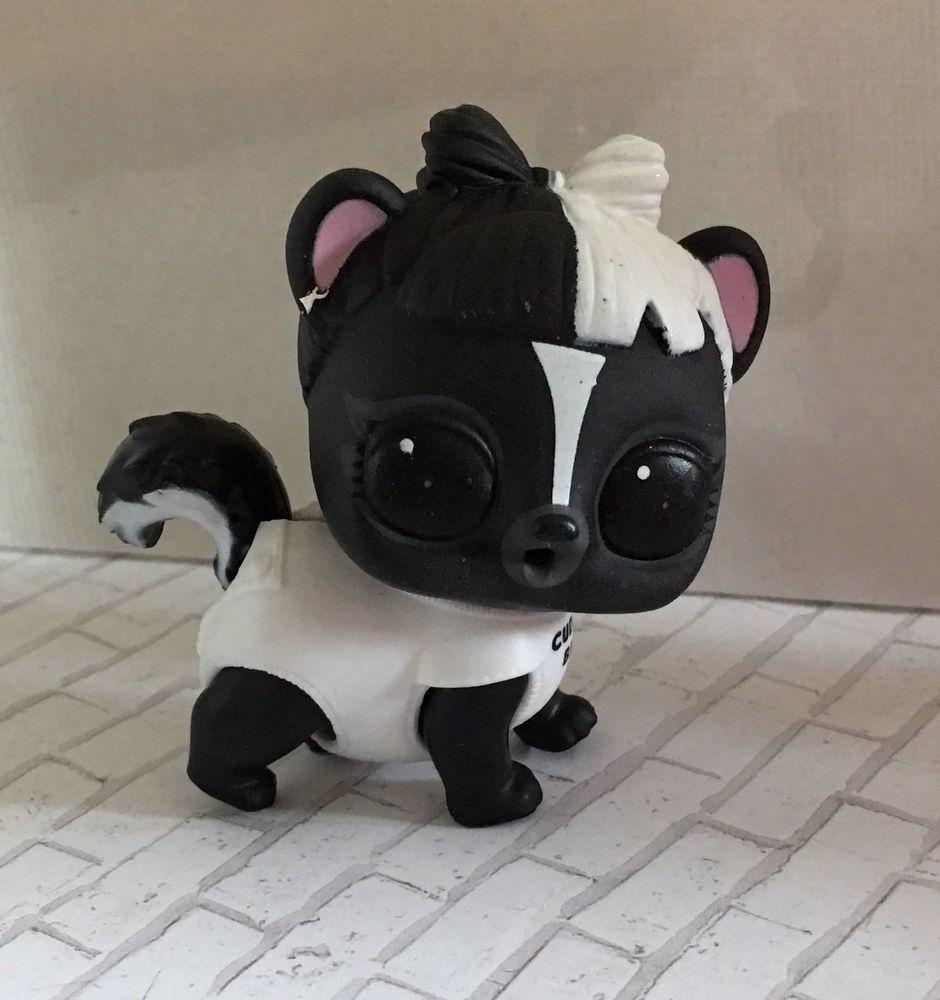 TOP Surprise Doll Pets New Le Skunk Bebe Eye Spy Series Animals Figure Girl Toy