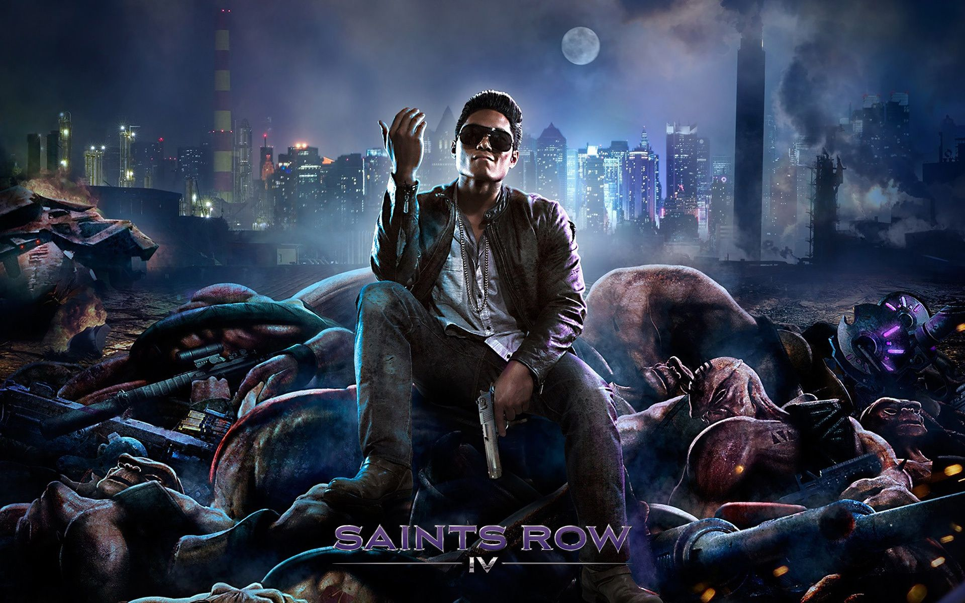 Saints Row 4 Johnny Gat Saints Row Saints Row Iv Saints Row 4