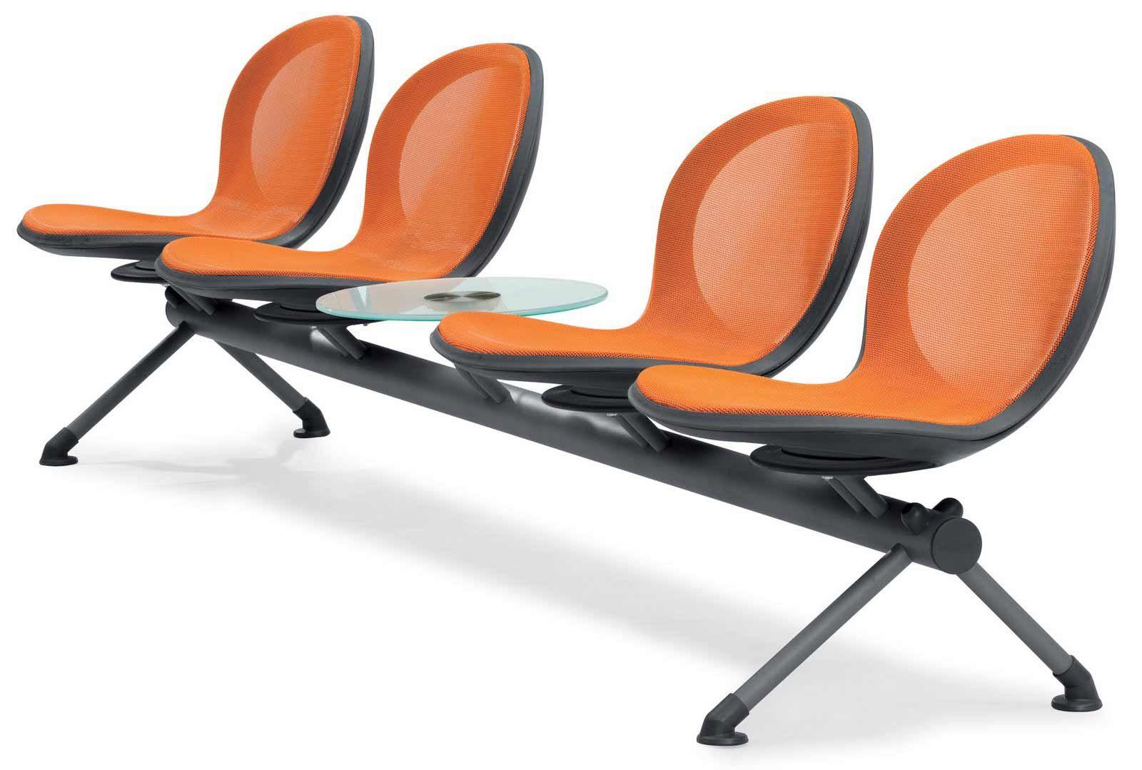 Side by Side modern reception seating design  Modern lounge