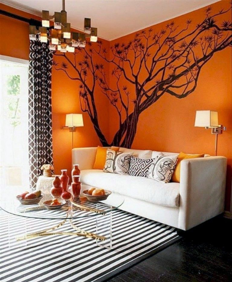 15 Lush Orange And Also White Residing Rooms In 2020 Living Room Orange Living Room Decor Unique Living Room Red #orange #accessories #for #the #living #room