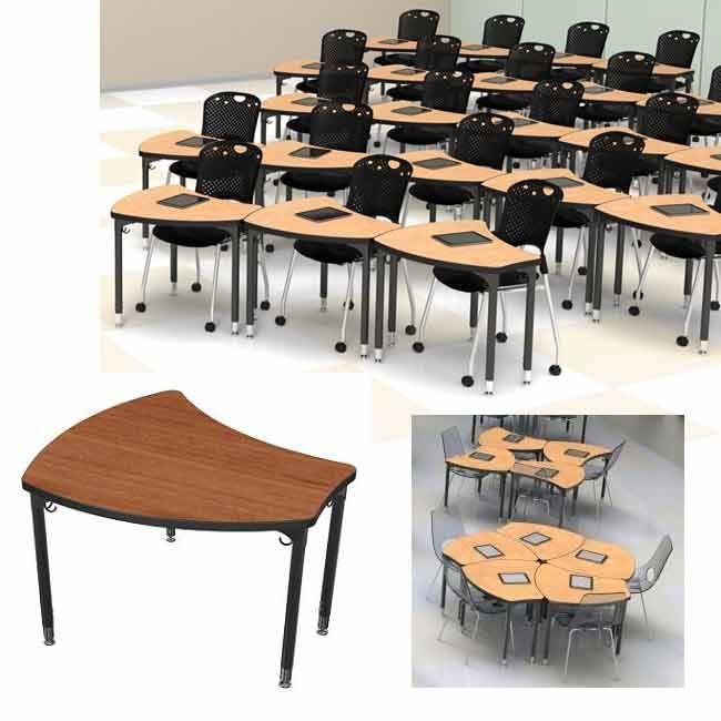 Shapes Desk Kids Furniture Design Modern Classroom School