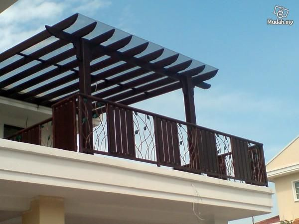 Pergola Awning Polycarbonate Roof Services Malaysia Roofing