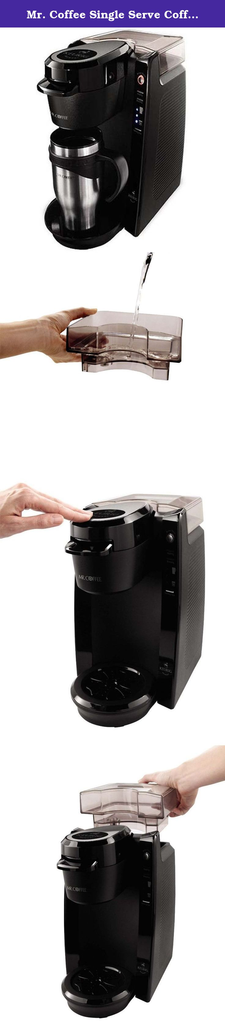 Mr. Coffee Single Serve Coffee Brewer BVMCKG5001, 24