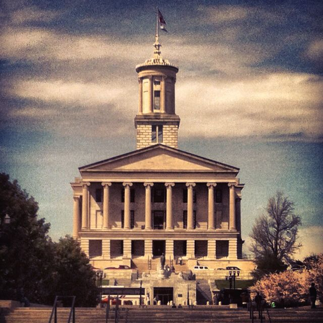 Tennessee State Capital in Nashville.
