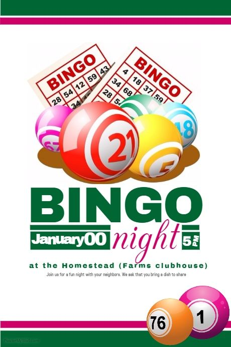 copy of bingo flyer bingo night pinterest bingo bingo night