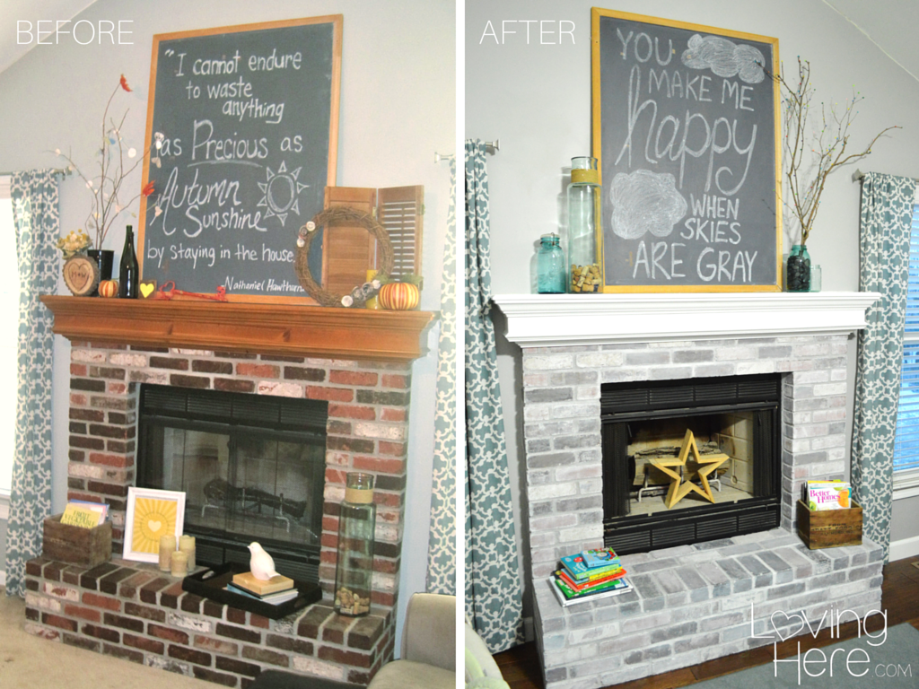 The ultimate stepbystep tutorial for how to whitewash brick and