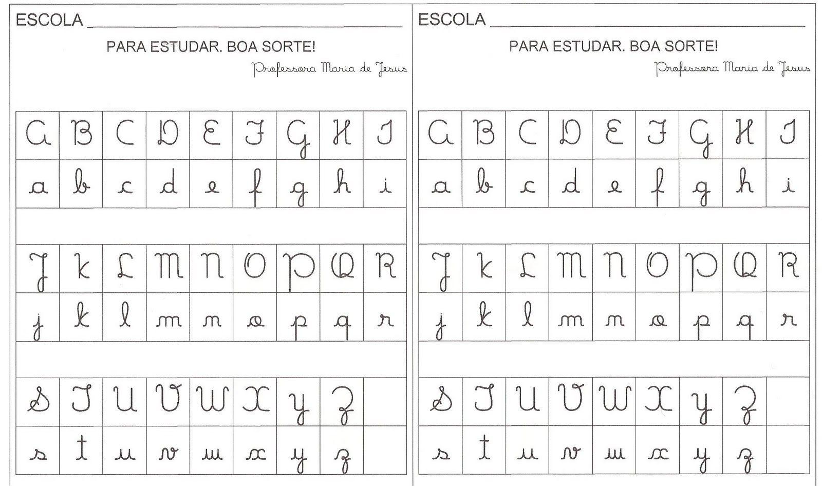 Alfabeto Letra Cursiva Imagui Con Imagenes Abecedario En