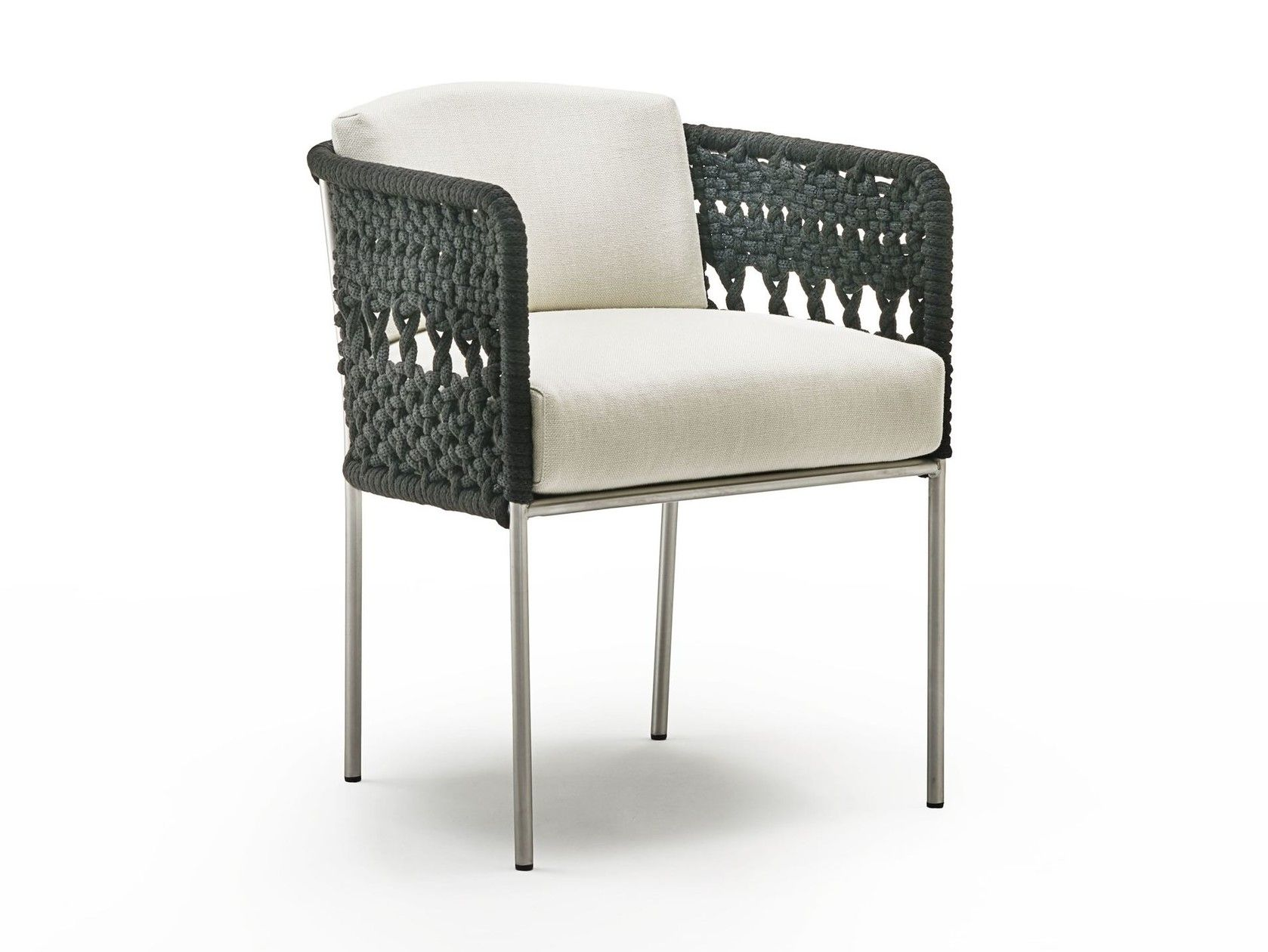 Divani B&amp Garden Chair With Armrests Mini Tombolo By Living Divani