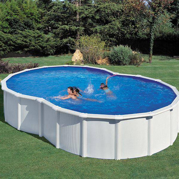 Piscine Acier En Kit Forme Huit 7 10 X 4 75 X 1 20 M Dream Pools