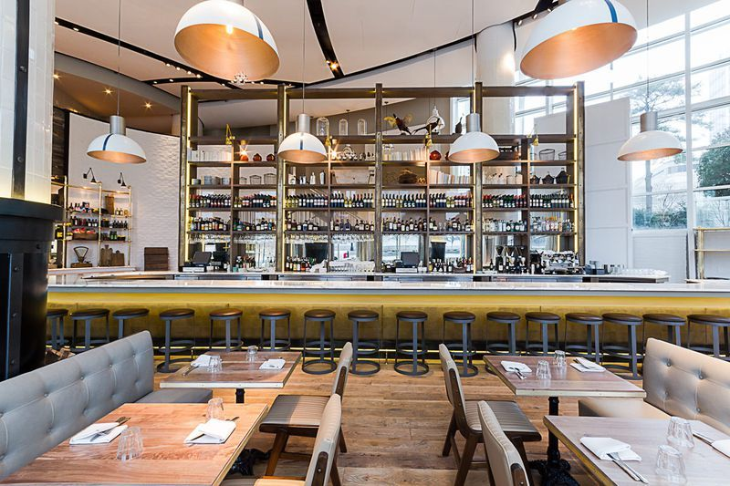 Scope The Menu And Look Around Ford Fry S St Cecilia Now Open In