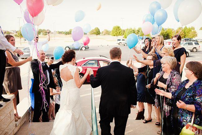 Balloon Wedding Send Off