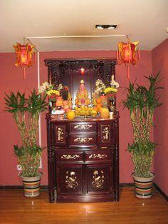 佛坛 - Buddhist altar | Buddhists