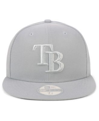 new arrival 7a032 a0bfb New Era Tampa Bay Rays Fall Prism Pack 59FIFTY-fitted Cap - Gray 7 3 4