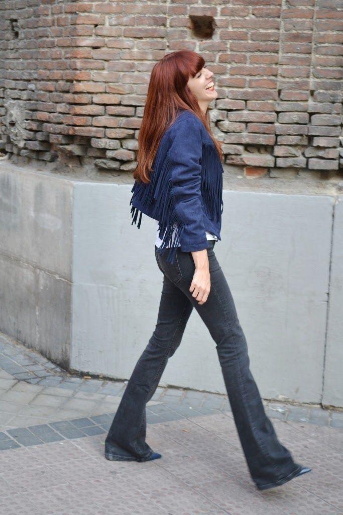 Seventies Look - Flared Jeans ~ Mi Vida en Rojo